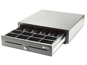 Cajón para Dinero Black Ecco BE5B8M100, 8 separadores para monedas y 5 para billetes, RJ-11.
