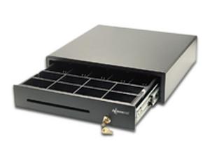 Cajón para Dinero Black Ecco BE5B8M200, 8 separadores para monedas y 5 para billetes, RJ-11.