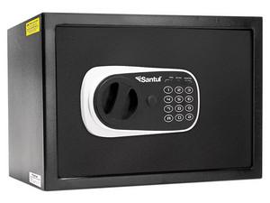 Caja de Seguridad electrónica Santul. Color Negro.