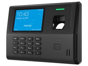 Control de Asistencia Biométrico Anviz EP300 Pro, Batería recargable, USB, TCP/IP, hasta 3000 usuarios.
