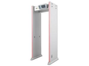 Arco detector de metal ZKTeco D4330, 33 zonas, 300 zonas de sensibilidad, indicadores LED, control remoto.