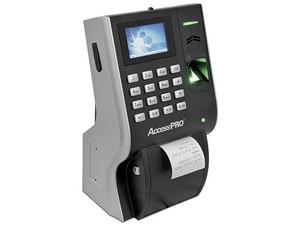 Control de acceso ZKTeco LP400 con impresora de hasta 3,000 huellas y 100,000 registros.