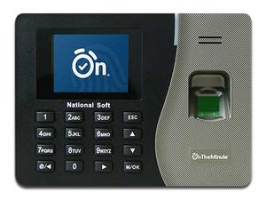 Control de asistencia ZKTeco On The Minute K20, hasta 500 huellas, 500 tarjetas y 50,000 eventos.