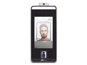 Control de acceso ZKTeco SPEEDFACEV5L-TD, hasta 6000 rostros, 3000 palmas, 10000 huellas y 200000 registros.