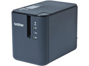 Impresora de etiquetas Brother PT-P950NW con cortador automático, USB, WiFi. Color Negro.
