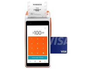 Terminal de punto de venta Clip Total, recibe pagos con tarjeta y Samsung Pay, 4G, 3G, Wi-Fi.