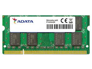 Memoria ADATA SODIMM DDR2 PC2-6400 (800MHz), 1 GB.