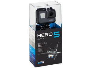 Cámara GoPro Hero 5 Black Edition, Pantalla LCD LCD touch screen de 2