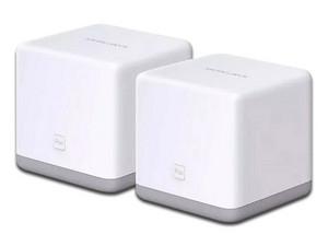 Sistema de Wi-Fi en malla MERCUSYS Halo S3(2-pack) de hasta 300 Mb/s, Wi-Fi 4.