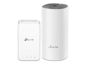 Sistema de extensión de Red TP-Link Deco E3, AC1200, 2.4 y 5 GHz, hasta 867 Mbps, 2 Piezas. Color Blanco.