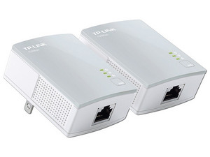 Kit Adaptador de red Powerline TP-LINK TL-PA4010KIT hasta 500 Mbps, Plug and Play.