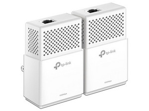 Kit de Adaptadores de red TP-LINK Powerline AV1000 hasta 1000Mbps.
