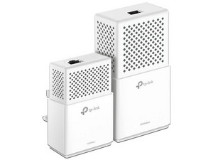 Kit de Adaptadores de red Powerline Wireless Extender TP-LINK Gigabit AV1000, Doble Banda, hasta 1000 Mbps.