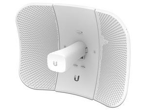 CPE de Exterior Ubiquiti Networks LiteBeam LBE-5AC-GEN2 de 5 GHz. Color blanco.