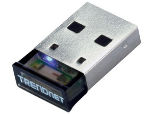 Micro Adaptador USB TRENDnet de Bluetooth, hasta 100m de distancia.
