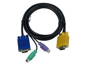Cable Tripp Lite KVM PS/2 (3 en 1) de 1.8m.