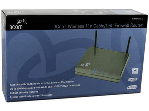 Ruteador 3Com Firewall Wireless 11n, para Cable/DSL