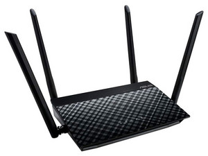 Router 3 en 1 inalámbrico ASUS RT-N19 Wireless N (Wi-Fi 4), hasta 600Mbps.