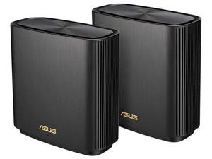 Sistema Wi-Fi de malla ASUS ZenWiFi AX (XT8) de triple banda, Wireless AX (Wi-Fi 6), hasta 4804 Mbps, Paquete de 2 piezas.