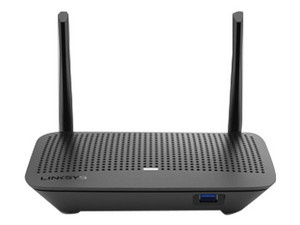 Ruteador Inalámbrico Smart Wi-Fi LINSYS EA6350-4B de doble banda, Wireles AC (Wi-Fi 5), Hasta 867 Mbps. Color Negro