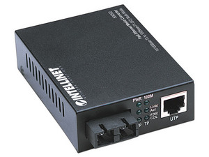 Convertidor de Medios Intellinet Fast Ethernet 10/ 100Base-TX a 100Base-FX