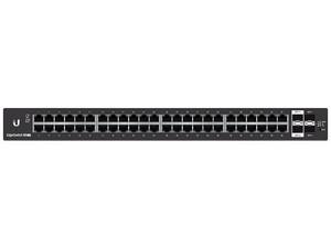 Switch Ubiquiti Networks ES-48-LITE de 48 puertos 10/100/100, 2 puertos SFP + Ethernet de 1/10 Gbps, 2 Puertos Ethernet SFP de 1 Gbps.