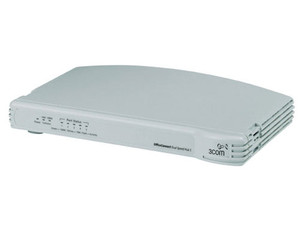 Hub 3Com® OfficeConnect® Dual Speed de 5Ptos. 10/100Mbps