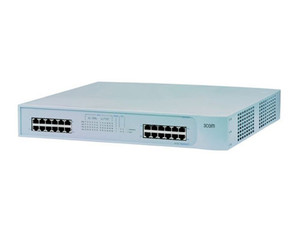 Switch Gigabit 3Com® SuperStack®3 4924 con 24Ptos 100/1000Mbps