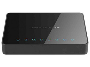 Switch Grandstream  GWN7000 con 5 puertos Gigabit, 2 WAN. Color Negro.