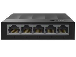 Switch Tp-Link LS1005G de 5 puertos10/100/1000 Mbps, No Administrable.