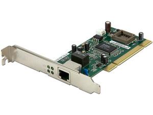 Tarjeta de Red D-Link Gigabit, 10/100/1000, PCI.
