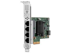 Tarjeta adaptadora HP para Servidor de 4 Puertos 10/100 Mbps, PCIe.