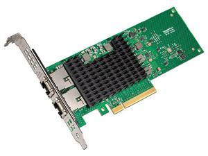 Tarjeta Adaptadora de Red Intel con 2 puertos RJ-45, 10GbE, PCIE x8.