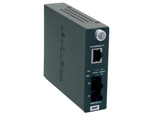 Convertidor de fibra Trendnet TFC-110MST ST multimodo de 100Base-TX a 100Base-FX