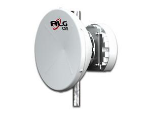 Antena Dish ALGcom Blindada PS109003003DPUHP con 30 dBi de ganancia, frecuencia 10GHz