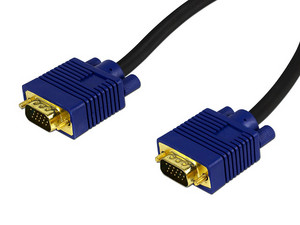Cable de video Vorago VGA (M-M), 10m.