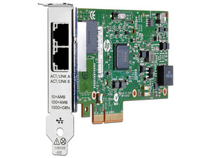 Adaptador Ethernet 652497-B21 361T de 1 GB Doble Puerto para servidor HP.