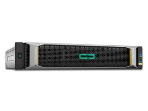 Unidad de almacenamiento HPE MSA 2050 SAN SFF de doble controlador con capacidad de hasta 24 HDD (No incluidos), SFP.