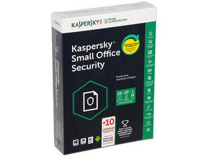 Kaspersky Small Office Security 10, 1 Servidor, 10 Computadoras, 1 Año.