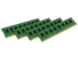 Memoria Kingston DDR3 PC3-12800 (1600 MHz), ECC, CL11, 32GB (4 x 8GB) para Servidores DELL.