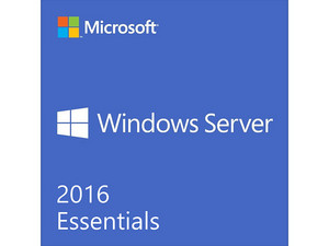 Microsoft Windows Server 2016 Essentials, OEM, DVD, Exclusivo a la venta en equipos nuevos.