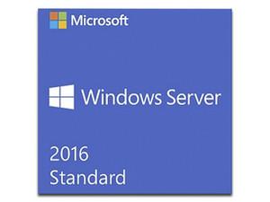 Windows Server 2016 Standard 64bit, OEM, en Ingles. Exclusivo a la venta en equipos nuevos.
