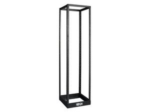 Rack Abierto TRIPP-LITE SR4POST, 45U de 48cm x 91.44cm. Color Negro.