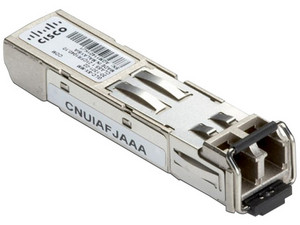 Transceptor de Fibra Óptica Cisco SFP, multimodo, 850 nm.