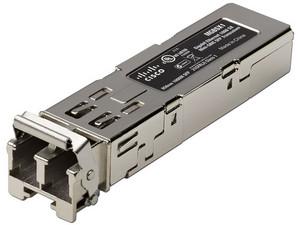 Transceptor de Fibra Óptica Cisco SFP Gigabit, multimodo, 850 nm.