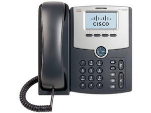 Teléfono Alámbrico Cisco SPA502G, Básico, una Linea, Color Negro.