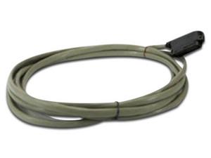 Cable de Fibra Óptica Panasonic Amphenol, Conector Angular (M-M), 25 Pares, 2m. Color Gris.