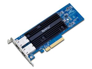 Tarjeta de Red Synology E10G18-T2, 10GBASE-T, con 2 puertos RJ-45, para servidores Synology.