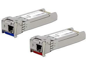 Módulo Transceptor Ubiquiti UF-SM-10G-S, SFP+, 10GBASE-BiDi, Monomodo, hasta 10 km. (2 Unidades)