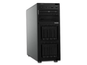Servidor Lenovo ThinkSystem ST250: Procesador Intel Xeon E-2136 (4.50 GHz), Memoria 16GB DDR4, D.D. de 1 TB, Unidad Óptica DVD±RW, S.O. No Incluye.